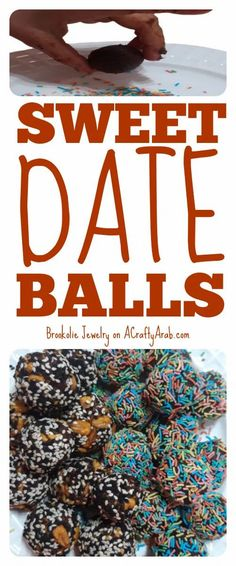 Learn how to make these scrumptious Sweet Date Balls. Ramadan Crafts, Ramadan Decorations, Date Balls, Coconut Candy, Muslim Culture, Date Recipes, Cinnamon Chips, Cooking Dishes, Balls Recipe