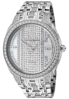 Christian Bernard Men's City Light Watch In Silver - Beyond the Rack Casual Watches, Watches For Men, Beautiful Watches, City Lights, Stainless Steel Case, Michael Kors Watch, Rolex Watches, Bracelet Watch, Fashion Jewelry