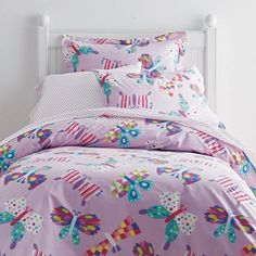 Butterfly Magic Percale Bedding