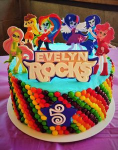 My Little Pony Equestria Girl Cake