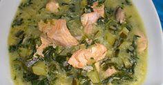 Fabulosa receta para Sopa de salmón con verduras…