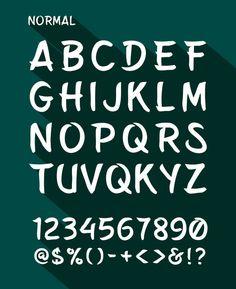 Belepotan free font by Arwan Sutanto, via Behance