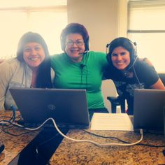 AJ Dugay, our Education Coordinator, with Rosa Estrada, our Bay Area CRC Intake Specialist, and guest webinar speaker, Jeannette Hilgert, LCSW. Webinar topic: Managing Caregiver Stress in Spanish (April 9th, 2014)