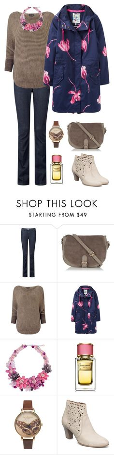 """""""Casual 18"""" by aki-g ❤ liked on Polyvore featuring Pure Collection, Oasis, Phase Eight, Joules, NOVICA, Dolce&Gabbana and Olivia Burton"""