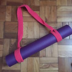 Crochet Yoga Mat Strap by ByJohannaWithLove on Etsy