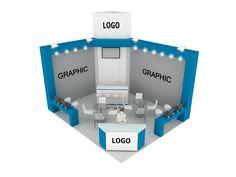 Small yet effective #Tradeshow #booth. TriadCreativeGroup.com