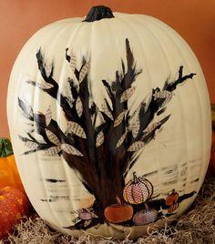 Foam Pumpkin idea
