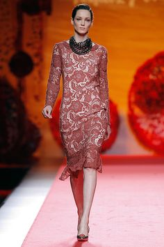 Francis Montesinos - Madrid Fashion Week O/I 2015-2016