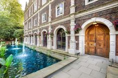 Safestay Holland Park is situated in a Grade I listed building in West London. Kensington London, Holland Park, London Today, Listed Building, Cheap Hotels, Hostel, Around The Worlds, Mansions, United Kingdom
