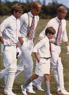 Cricket Whites by Ralph Lauren Preppy Boys, Preppy Style, Preppy College Style, Ivy Style, Mode Style, Cricket Whites, Ivy League Style, Estilo Preppy, Best Blazer