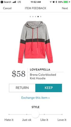 Like this style, but would prefer different colors. [Loveappella]
