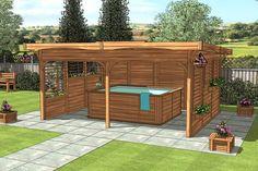 Hot Tub Gazebo on Pinterest | Hot Tub Privacy, Hot Tub Accessories and ... - hot tubs gazebo design ideas NH2 – Home Decor Ideas and Sofa