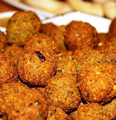 "Falafel is the original veggie burger and is a common dish throughout the Middle East. It is found in Lebanon, Syria, Israel, Egypt, and is especially popular with Palestinians. In Egypt it is known as tamiyah or taamiyah. Israelis sometimes call it the ""national food of Israel."" 4 to 6 servings"