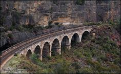 The Lithgow Zig Zag is an historic railway that lowered the Great Western Railway of NSW down the western escarpment of the Blue Mountains via a series of reversals, or 'Zig Zags'. Opened in 1869