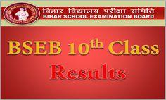 Bihar Board 10th Result 2016, BSEB Matric Results 2016
