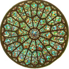 This Rose window sits high in the Notre Dame Cathedral Stained Glass Rose, Stained Glass Designs, Stained Glass Patterns, Stained Glass Windows, Leaded Glass, Mosaic Glass, Rose Window, Church Windows, Glass Pumpkins
