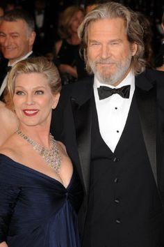 Jeff Bridges and Susan Bridges (5 June 1977 - present) (3 children)
