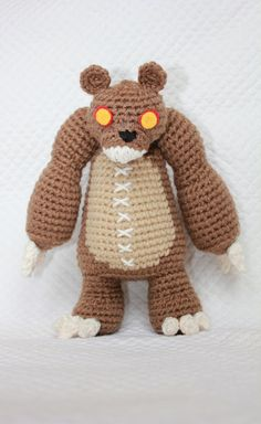 Tibbers from League of Legends Amigurumi Doll PATTERN PDF.