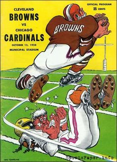 Cleveland Browns History, Cleveland Browns Football, Cleveland Rocks, Go Browns, Browns Fans, Arizona Cardinals Football, Nfl Championships, Baltimore Colts, Sports Art
