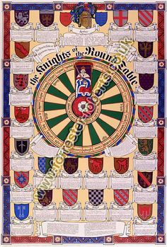 Knights of the Round Table chart by Forrester Roberts