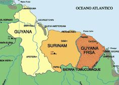"""If there's one truly unusual country at the South-American continent, it has to be Surinam. You'll find it in between British and French Guyana, and north of Brazil....what does it suggest about the current economic crisis? Perhaps that we could look into establishing multiple systems as well?"""