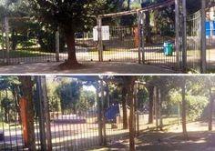 Dillo a #NapoliTime  Napoli: cancelli chiusi al parco Mascagna. Neppure un avviso per motivare il provvedimento