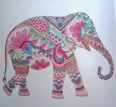 coloring ideas-elephant