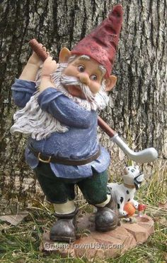 i can't stop thinking about putting a gnome in my future garden suddenly... odd, right?