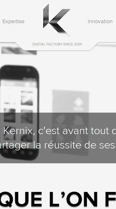 Kernix | Réalisations de solutions web sur mesure http://www.kernix.com/realisations