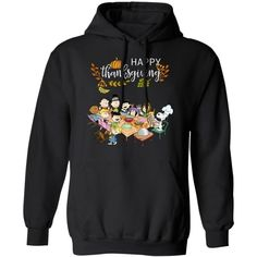 Happy Thanksgiving Snoopy And Peanuts Friends Hoodie Lovely Gift MT10