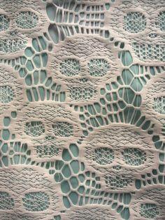 skull pattern.