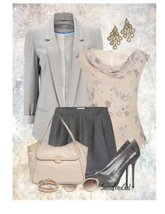 """Shorts & Blazer"" by sassafrasgal on Polyvore"
