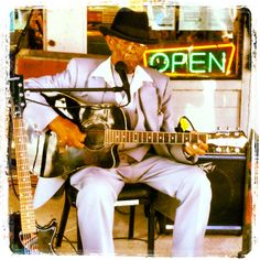 """One of the last culturally-connected, traditional Mississippi Hill Country bluesmen — Mr. Robert """"Wolfman"""" Belfour! He had a rough 2014 due to health issues, but he's on the mend and set for his comeback at 2015's Juke Joint Festival Kick-off on Thurs., April 9th, y'all! www.jukejointfestival.com"""