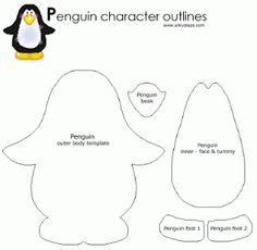 Cousas miñas: Más Pingüinos en fieltro