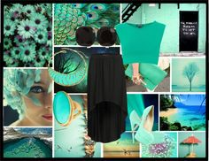 """Aqua Marine"" by ruby-lord on Polyvore"