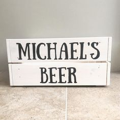 Beer storage crate  vintage style box  drinks container