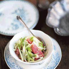Fenkoli-sitrussalaatti