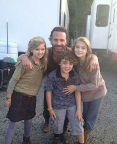 Behind the Scenes ~ The Walking Dead
