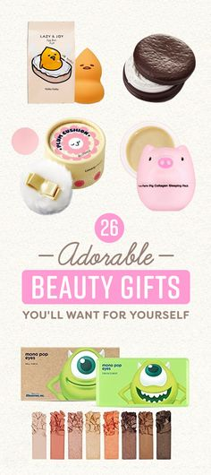 26 Fucking Adorable Beauty Gifts You'll Want To Keep For Yourself #timbeta #sdv #betaajudabeta