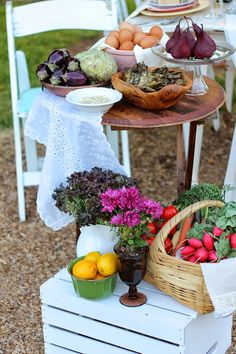 An Intimate Farm-to-Table Potluck   My Thirty Spot