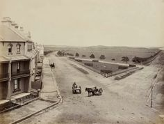 Pictures From The Past Like This Page · May 6 · Corner of Anzac Parade and South Dowling Street, in Source: Randwick City Council. House Under Construction, Moore Park, Sydney City, Surry Hills, Australia Day, History Photos, Historical Pictures, Old Photos, Vintage Photos