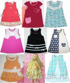 Cómo coser vestido de bebé