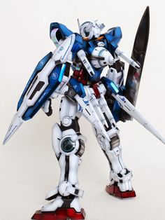1/60 Gundam Exia - Painted Build     Modeled by zzzang65