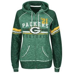 Majestic Green Bay Packers Tame the Tide Fleece Hoodie - Women's Green Bay Packers Hoodie, Green Bay Packers Fans, Fleece Hoodie Women, Hooded Sweatshirts, Hoodies, Oakland Athletics, Oakland Raiders, Packers Football, Greenbay Packers