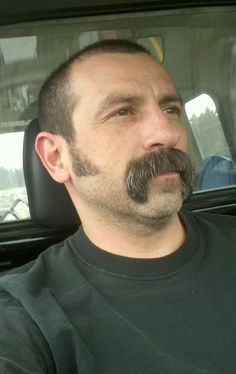 """epicmountainbeard: "" Rockin a stache "" mocny "" Beard No Mustache, Handlebar Mustache, Stylish Haircuts, Haircuts For Men, Moustaches, Handsome Older Men, Goatee Beard, Beards, Hair"