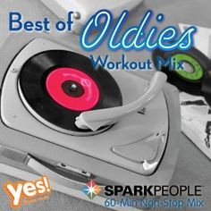 SparkPeople's 'Best of the Oldies' Workout Mix is now available at amazon.com for $8.99! 15 songs mixed at 132 bpm--perfect for exercising