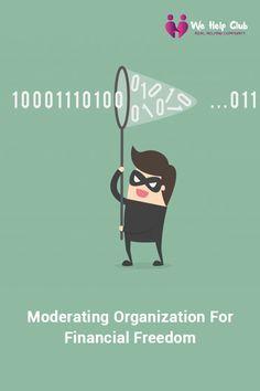 moderating organization for financial freedom