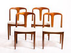 "Johannes Andersen ""Juliane chairs"" | Vintage Furniture Base"