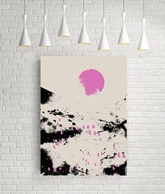 Abstract wall art landscape abstract print abstract art