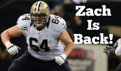 Welcome back zach